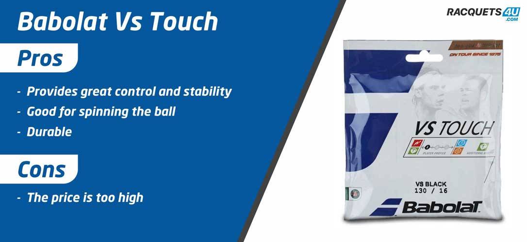 Babolat VS Touch Tennis String - Pros and Cons