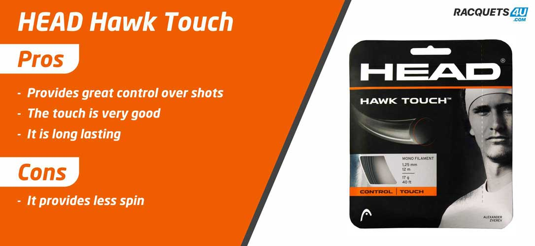 Head Hawk Touch Tennis String - Pros and Cons